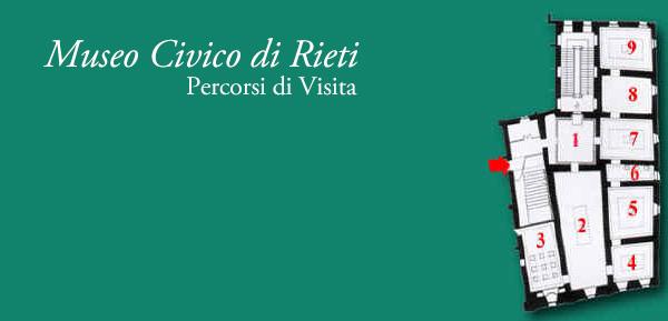 Pianta del Museo Civico di Rieti